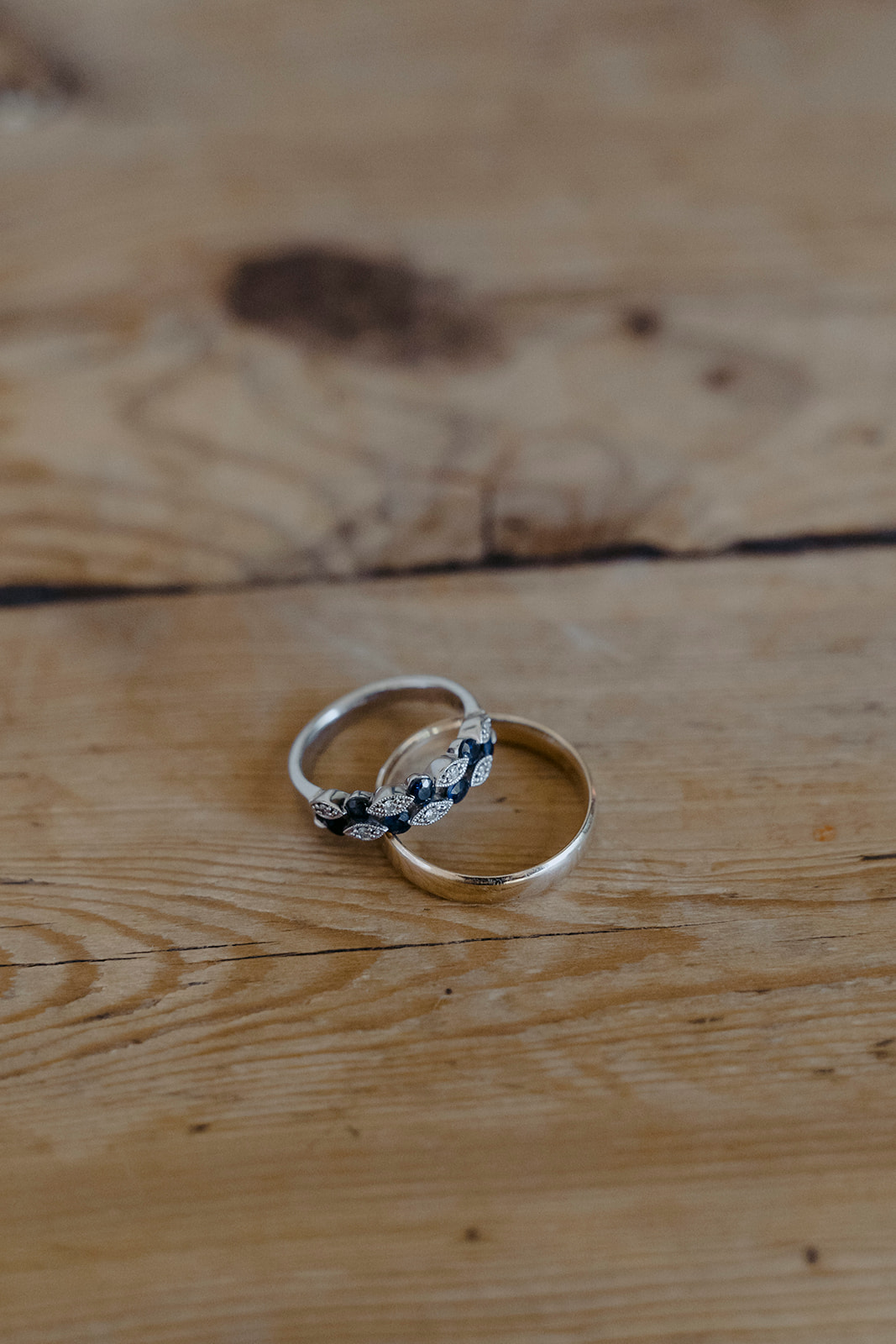 Jeff and Sig rings